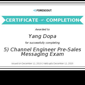 Yang Dopa_5) Channel Engineer Pre-Sales Messaging Exam_Certificate (2)