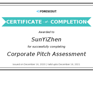 Forescout-Corporate Pitch Assessment-Kevin