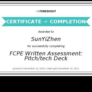 Forescout-FCPE Written Assessment_ Pitch_tech Deck