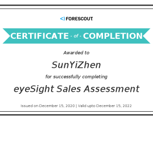 Forescout-eyeSight Sales Assessment-Kevin