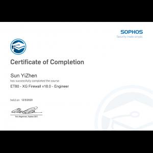 Sophos-XG Firewall v18.0 Engineer-Kevin